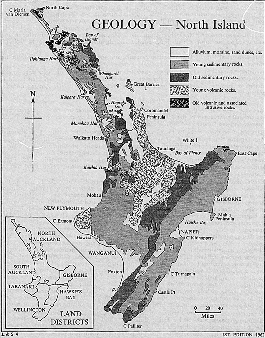 The New Zealand Official Year Book 1967 Lincoln 203 Wiring Diagram On Western Side Of South Island Younger Rocks Are More Widespread And Include Some Thick Sequences That Were Formed In Rapidly Sinking Basins