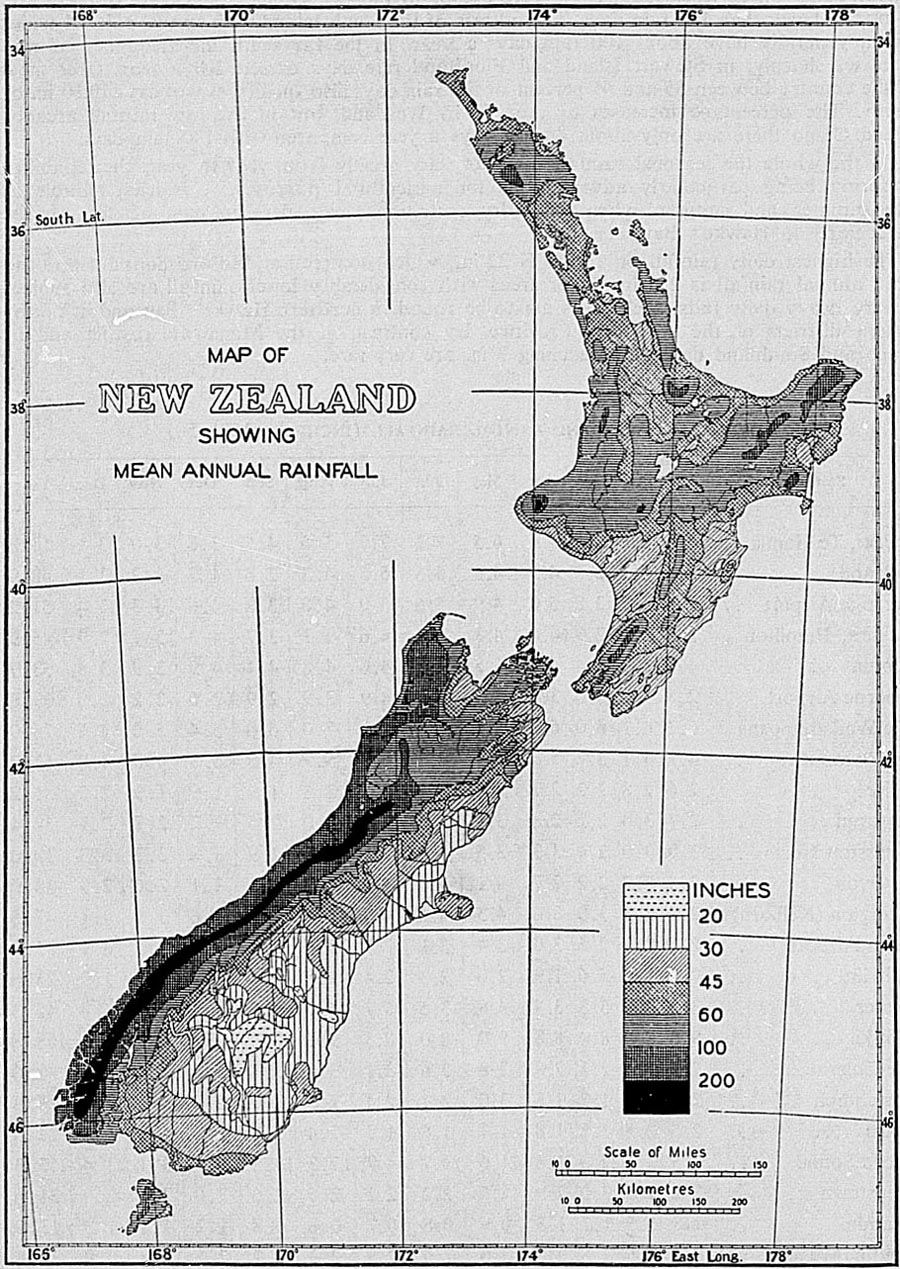 The New Zealand Official Year Book 1967 Ca 3750 Wiring Diagram Pool Thunderstormsthunderstorms Are Not Numerous Their Frequency Is Greatest In North And West Where Thunder Heard On 15 To 20 Days A